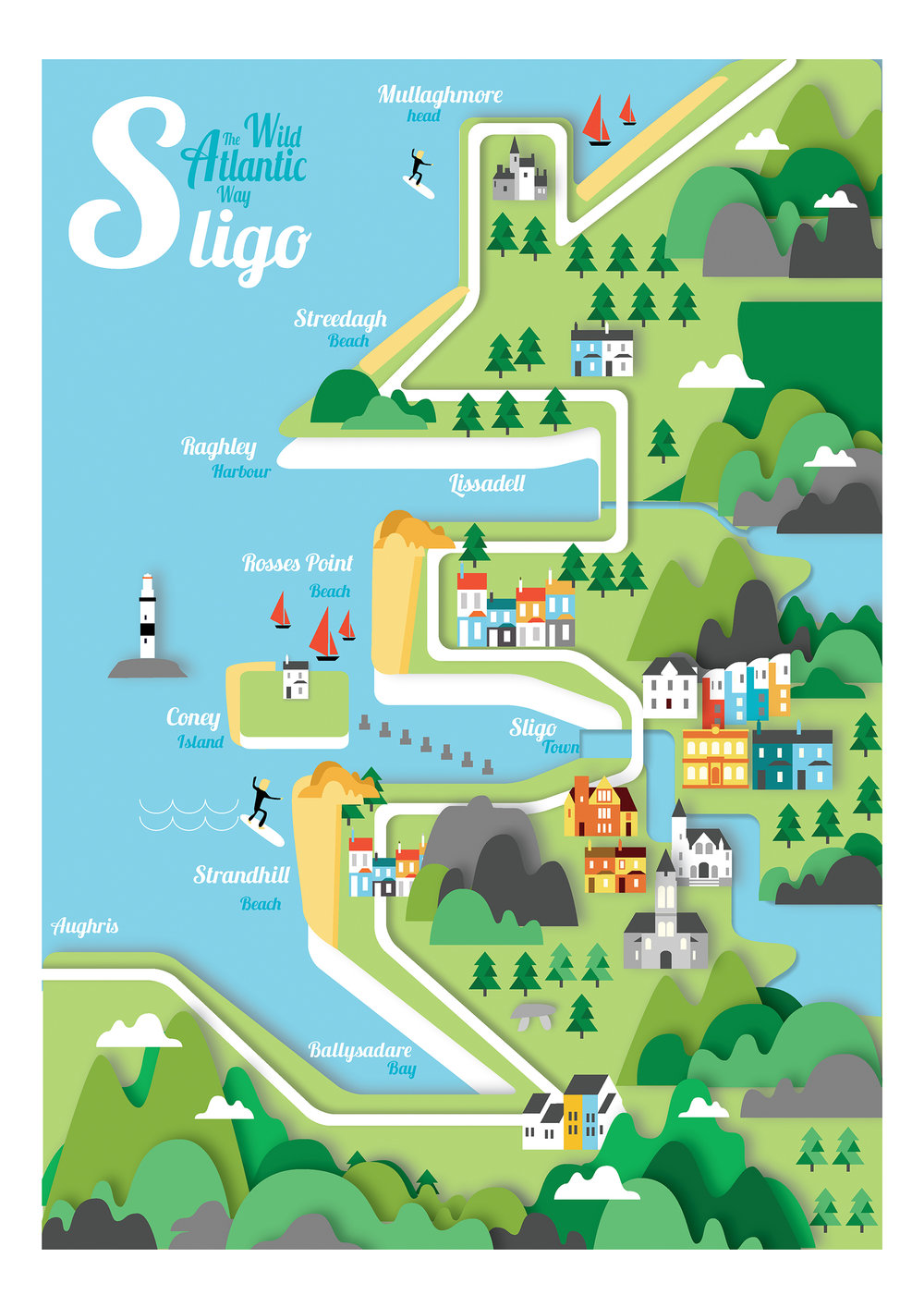 map of sligo