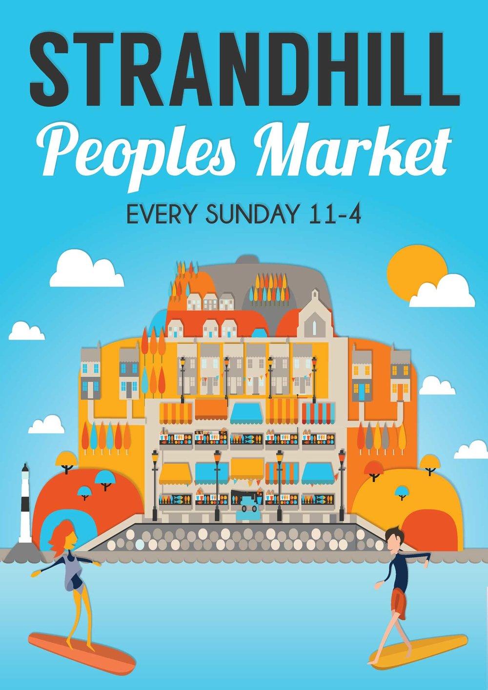 Reddin Designs illustration Strandhill-peoples-market-poster.jpg
