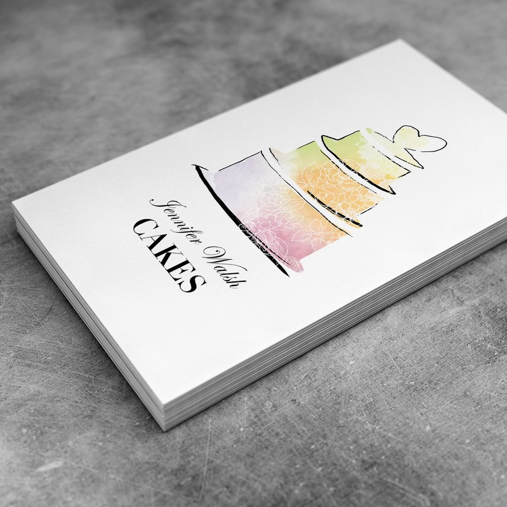 Reddin Designs cake logo design