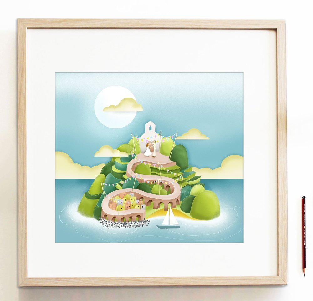 Reddin-designs-itialian-wedding-framed-illustration.jpg