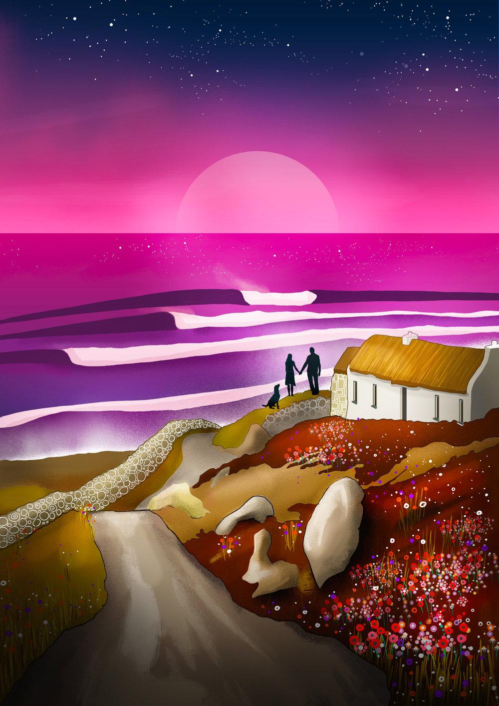 Reddin Designs our future wedding illustration