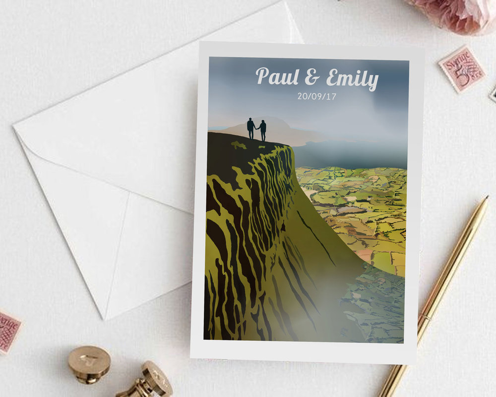 Reddin-designs-Wedding-invite-couple-hiking-benbulben.jpg