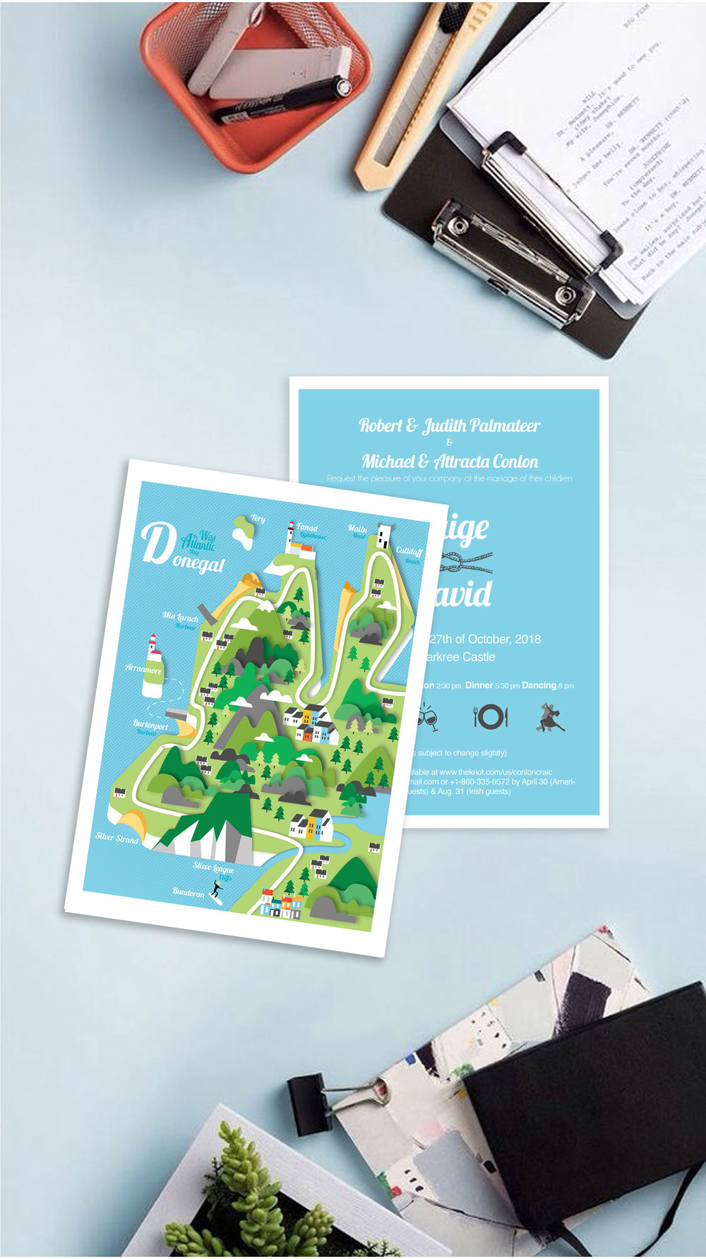 Reddin-designs-wedding-invites-maps-Donegal-front-and-back.jpg