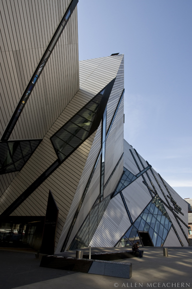 Royal Ontario Museum in Toronto as viewed from Bloor Street. © Allen McEachern.