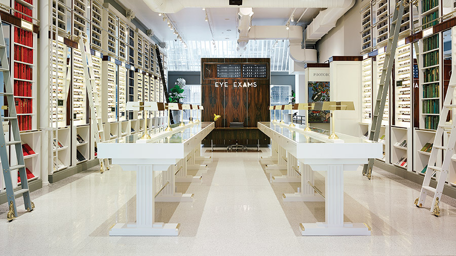 Warby Parker Store In Soho NY