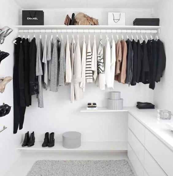 The perfect capsule wardrobe of essentials.