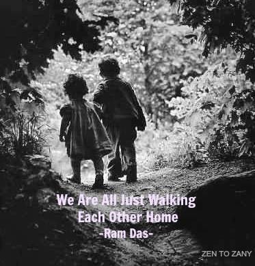 Walk the walk.