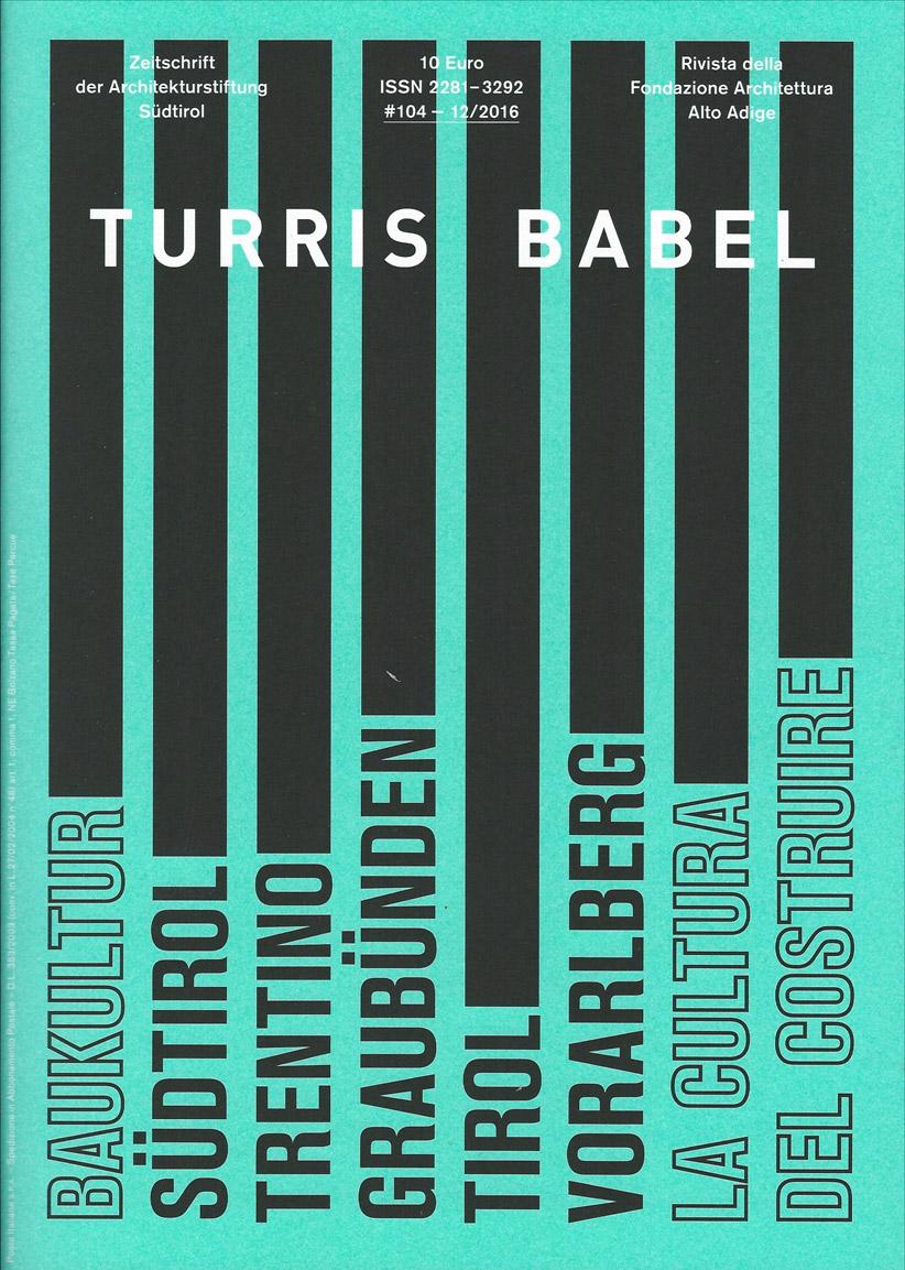 TURRIS BABEL  #104 12/2016