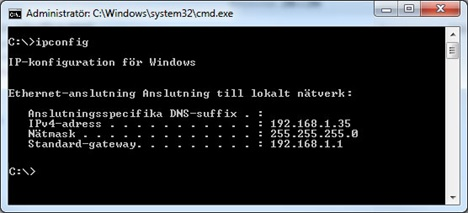 Hitta din IP adress