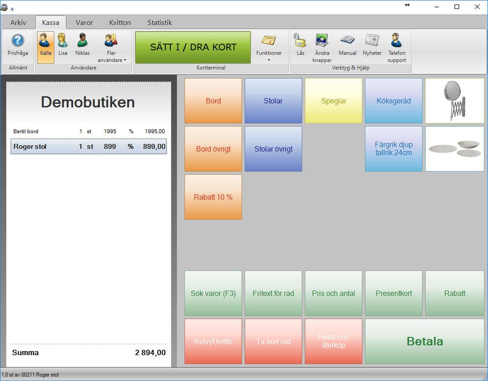 Hämta gratis redan idag! - Du kan ladda ner och installera JobOffice Kassa som demo gratis och testa med hjälp av ett medföljande demoföretag.