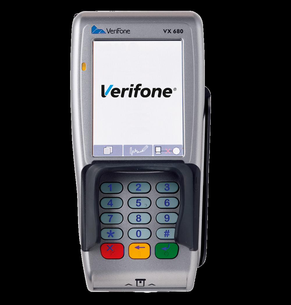Verifone VX 680 WiFi kortterminal