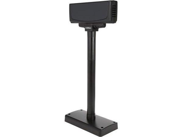 JobOffice Kassa med en egen dator och en extern USB kunddisplay