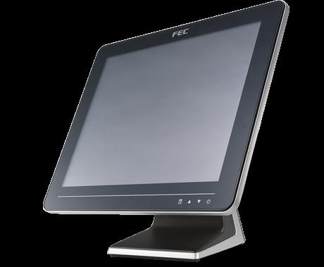 Komplettera med en touchskärm från FEC som fungerar utmärkt med JobOffice Kassa