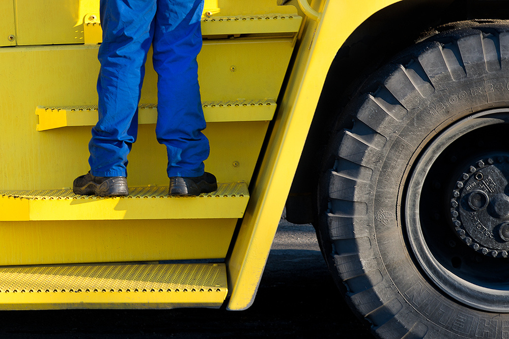 work in blue and yellow by Thomas Leth Olsen on Flickr