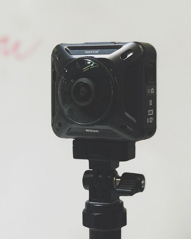 My first Nikon. #keymission360 #howlongagodidipreorderthis #canonalltheway #byebyesamsung