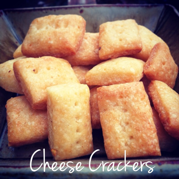 lactose free cheese crackers