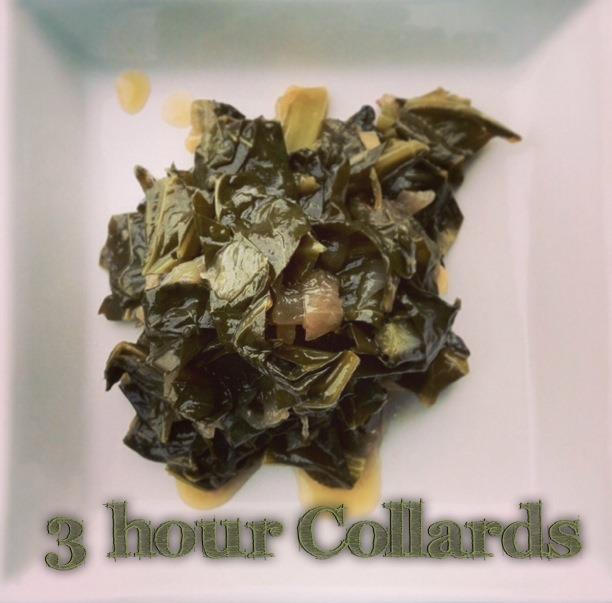 3 Hour Collards vegan