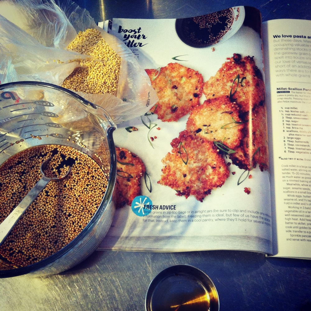 Bon Appetit's dipping sauce recipe