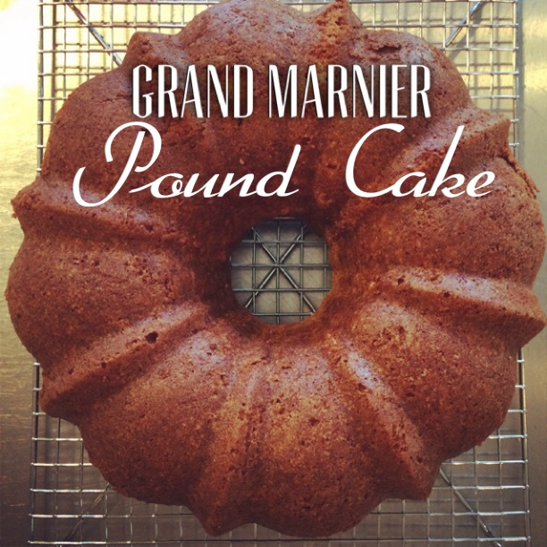 grand marnier pound cake