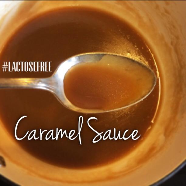 lactose free caramel sauce