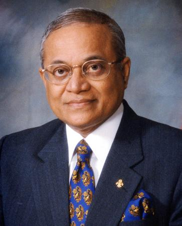 Maumoon Abdul Gayoom - Dictator of the Maldives from 1978 - 2008. Photograph via wikipedia.