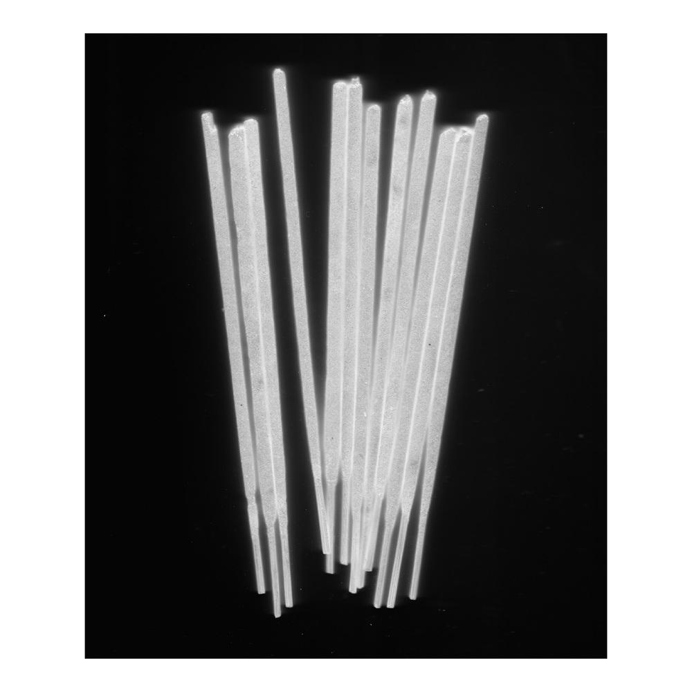 Fikuru 2.0 Incense sticks scanned with a digital flatbed scanner (2014)