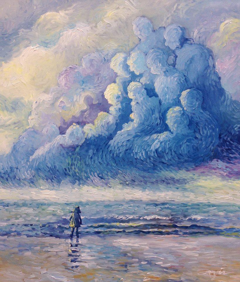 Guardians 60x70 cm  Oil on Canvas