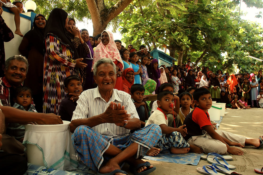 Eid celebrations. Lhaviyani Atoll Kurendhoo, Maldives. Nikon D70s. (2007)
