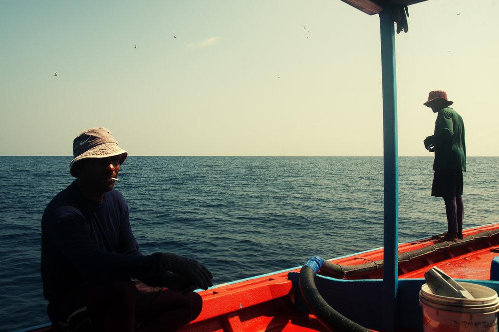 Fishermen from Baa Atoll Kudarikilu. Nikon D70s. (2009)
