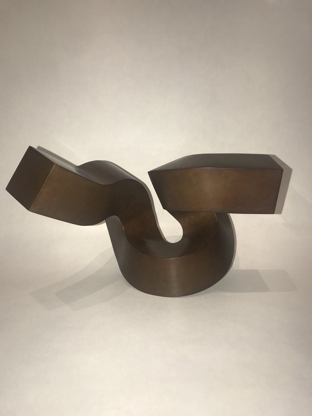Wingspread, bronze, 6.7 x 11 x 6.7 in