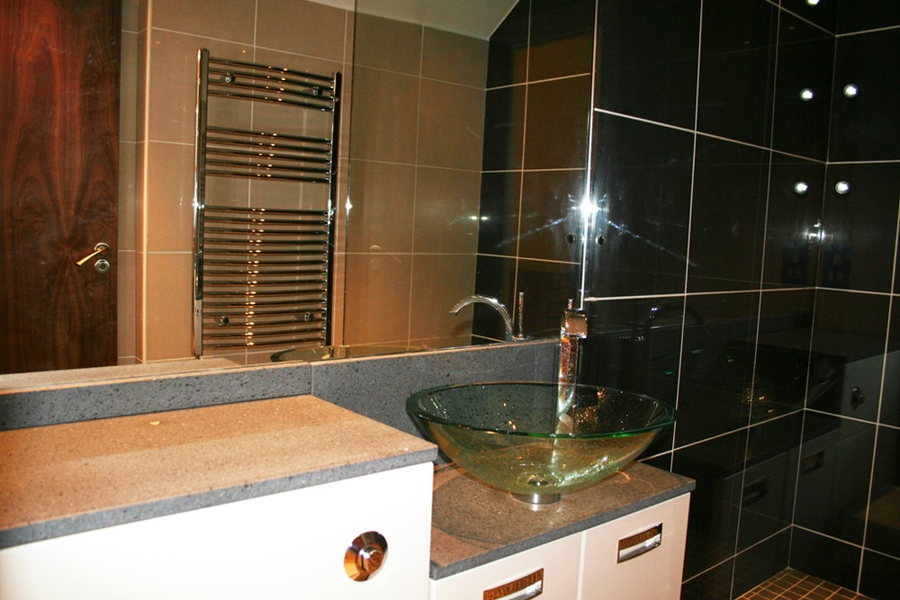 The contemporary style bathrooms stand out from the crowd for their aesthetically pleasing design.