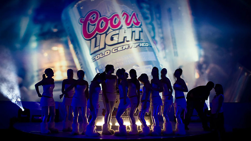 Coors Light Cold Party Graphics