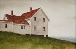 Artist: Doug Brega Lighthouse Hill Study 8 x 12