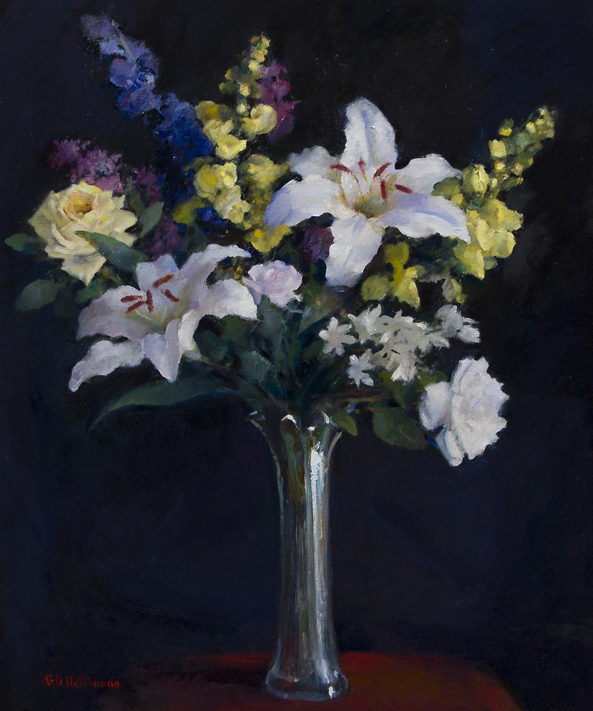 """Joy"" by Gary Hoffman 30 x 24 oil on canvas"