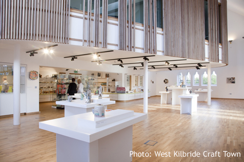 Barony Craft Centre, Crafttown Scotland West Kilbride