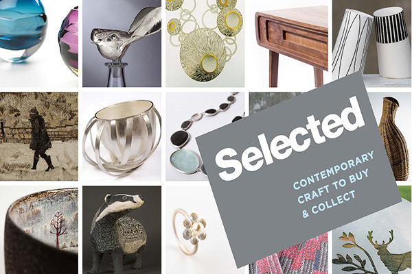 SELECTED at Dovecot Studios Ediburgh runs from the 29th Nov - 21st Dec 2013