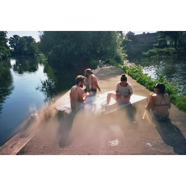 Post swim beer #river #wildswim #summer #adventure #undewater #underwaterphotography #kodak #filmphotography #filmisnotdead #35mm #analogue