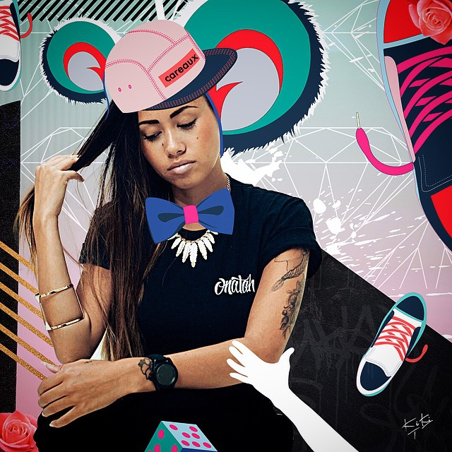 Please have a look at Careaux's sneakers illustrations they're awesome! I like her work 💥💥 @careaux you've been KIKIed! 😉 🌹 #kikitresor #collage #colorful #style #sneakers #love #pink #cool #art #illustration #creative #graphic#girl#fashion #popart #happy #beautiful #vector #graffiti #prints #gold #portrait #painting #canvas #artgallery #streetart #mode#cap#home