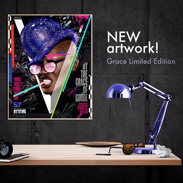Do you like Grace? That crazy b*? I do!!! You can have her in your living room. Grab the limited edition in my shop now. thanks for the support! ↯ #kikitresor #collage #colorful #style #intérieur #love #decoration #cool #art #illustration #creative #graphic#girl#fashion #popart #happy #beautiful #vector #graffiti #prints #gold #portrait #painting #canvas #artgallery #streetart #mode#decoration#home