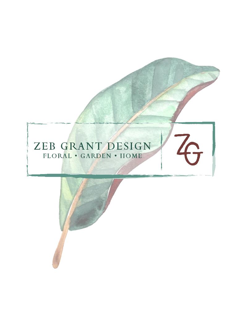 BRANDING DESIGN ZEB GRANT DESIGN
