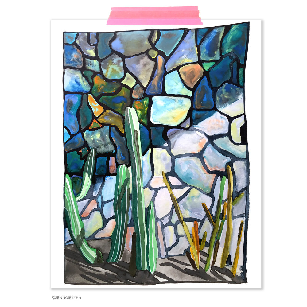 Palm Springs Cacti Watercolor Art Print.jpg