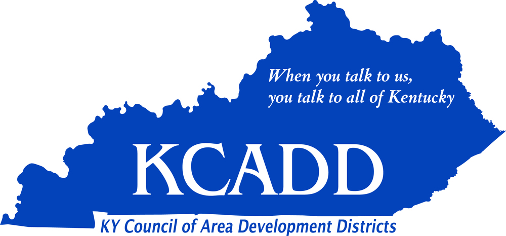 Kentucky Council Of Area Development Districts - Kentucky state map with cities