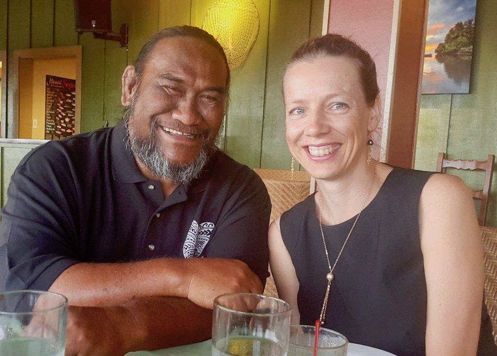 Kumu Paʻa Lawrence Aki & Kyrian van Vliet