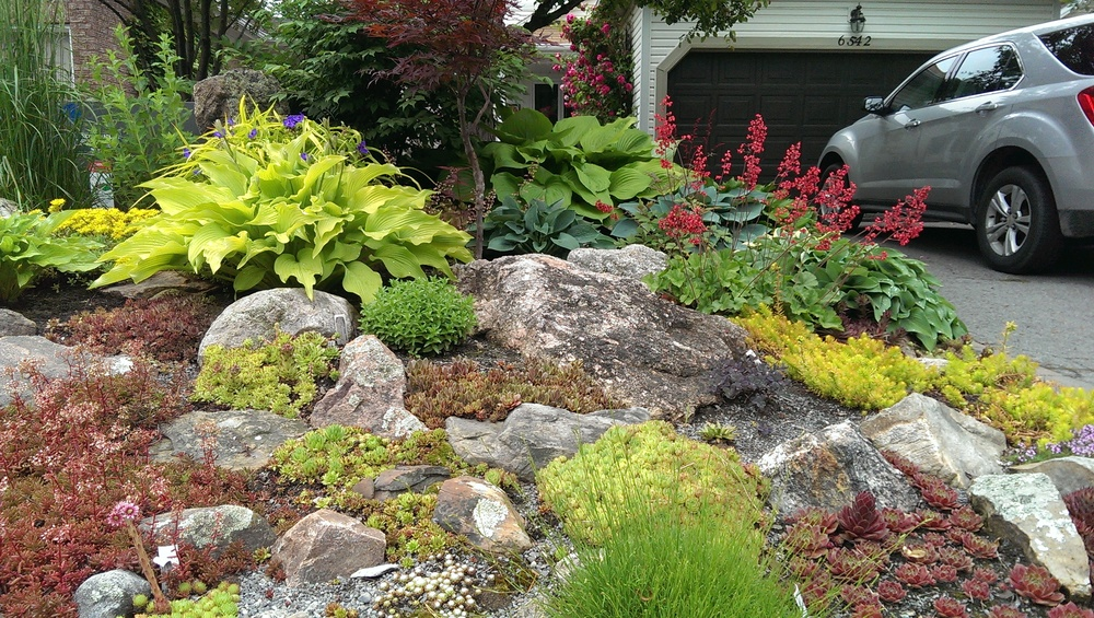 early landscaping experience pre 2000 interlock