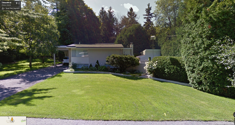 Design 764 with Pool House at 4 Briarcliffe Drive