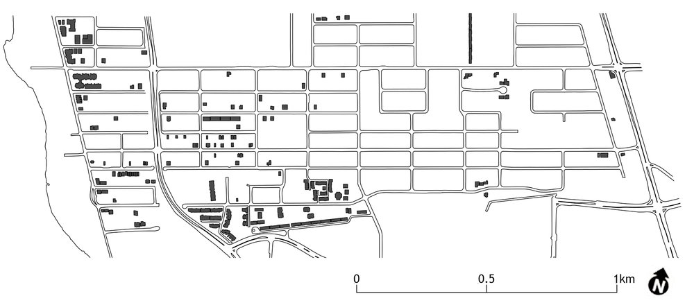 Figure 4: Distribution of Known Infill Projects in Overbrook.