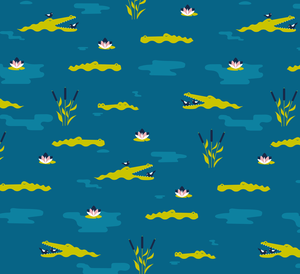 Croc pattern