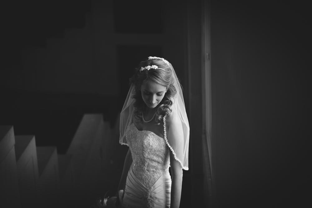 wait chapel bridal portrait winston salem nc