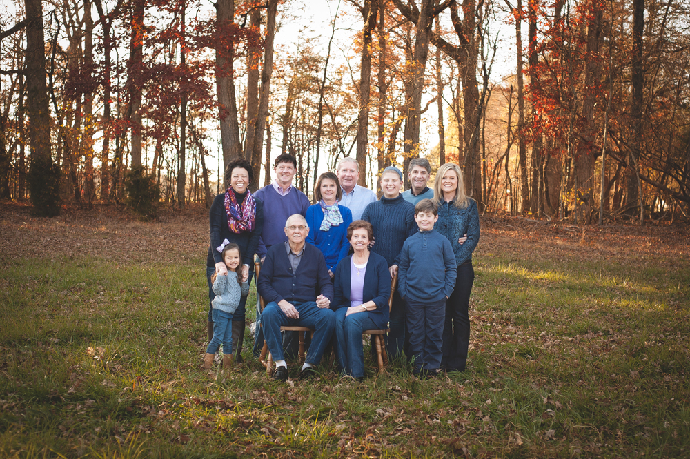 large family photo in field nc jordan tickle