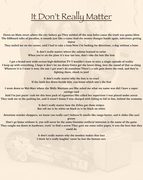 Lyrics — Harpeth Rising